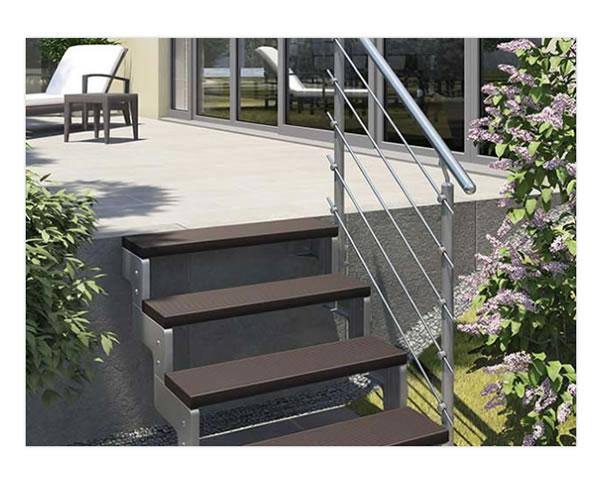 Treppengelaender Mettaltreppen im Raum 26349 Jade